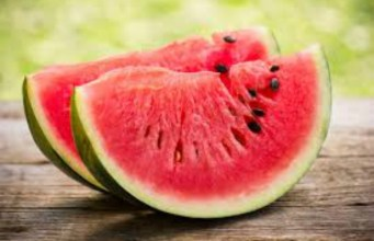 ...watermelon...not to be kept in the freezer...