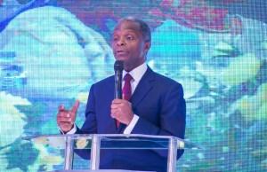 Acting President Yemi Osinbajo, SAN…..(sadiqsarumi.com photo)