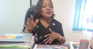 Mrs. Stella Akinso, the team leader of the Nigerian Urban Reproductive Health Initiative in Oyo State
