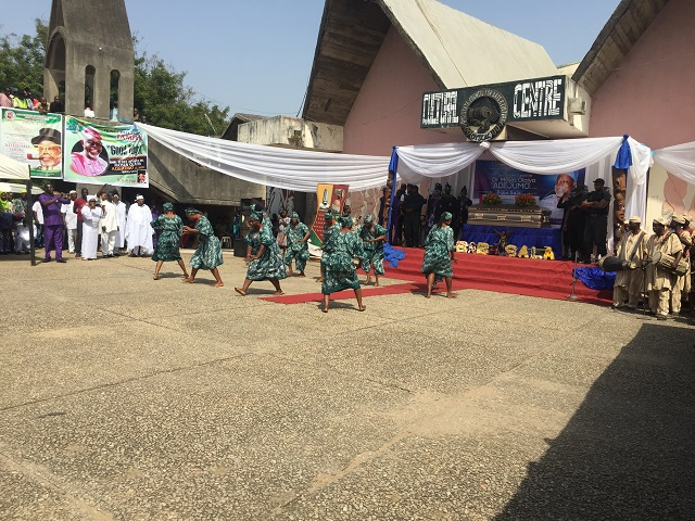 Oyo State's Cultural Troupe...adding value to the event...