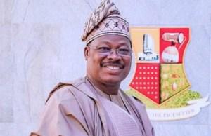 Governor Abiola Ajimobi of Oyo State...