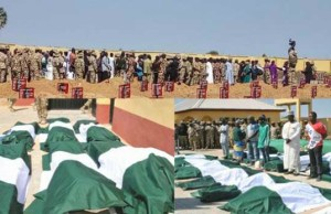 ...the heroes being prepared for burial...