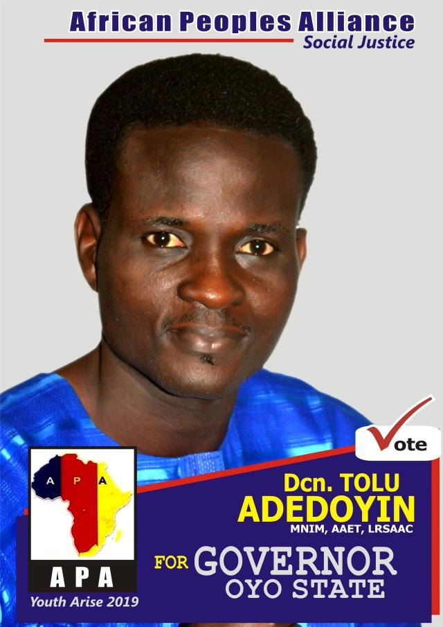 Deacon Adedoyin Tolulope
