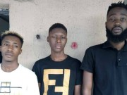 From left to right: Chukwuebuka, Chukwulenwa and Odinaka