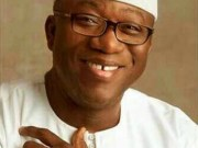 The Governor of Ekiti State, Dr Kayode Fayemi...