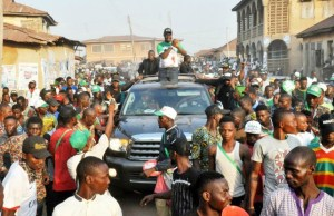 Engr Seyi Makinde…during the tour…