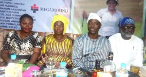 Oyo State's governor-elect, Engr. Seyi Makinde (second right) and his wife Mrs. Tamunomini Makinde, the captain of Ibadan Golf Club Mr. Olumide Oyediran (right) and the lady captain Dr. Tope Farombi (left) during the closing ceremony of the 2019 IGC Ladies Open…