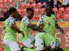 Members of the Flying Eagles...celebrating their victory...