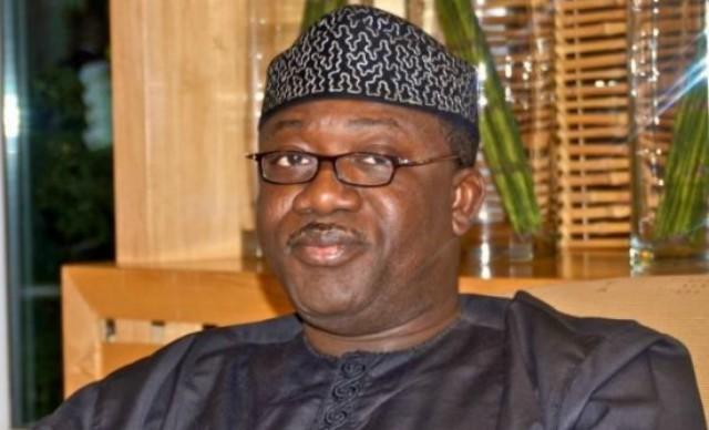 Dr Kayode Fayemi...the governor of Ekiti State...