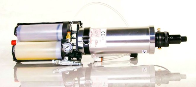 FastKickGun напыление полимочевины из картриджа установка низкого давления своими руками_00100