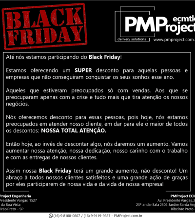BLACK FRIDAY PMPROJECT