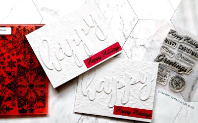 12 Days: Elegant White Holiday Card (and Giveaway)