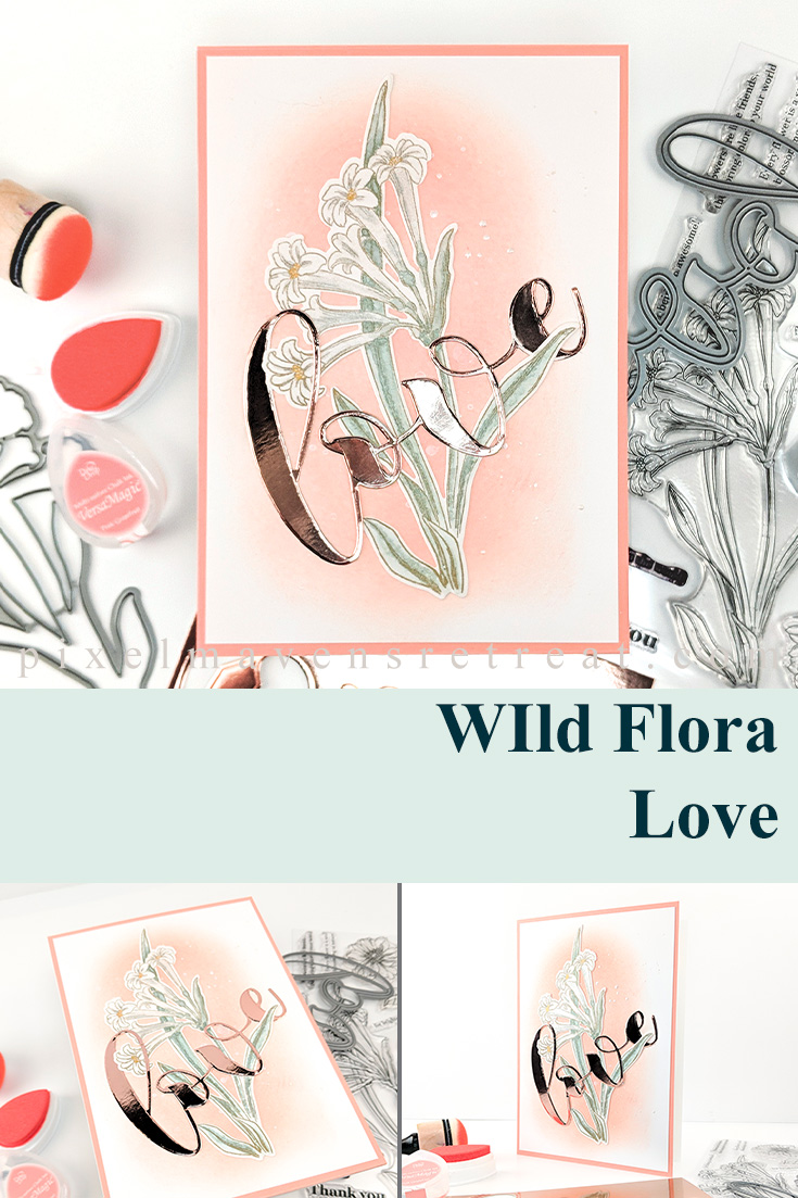 Wild Flora Love for Tic Tac Toe Challenge (TTTC053)