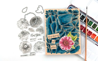 Altenew + The Daily Marker Watercolor Therapy Blog Hop & Giveaway