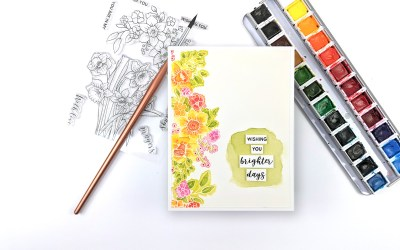 Altenew Paint-A-Flower: Daffodil Release Blog Hop + Giveaway