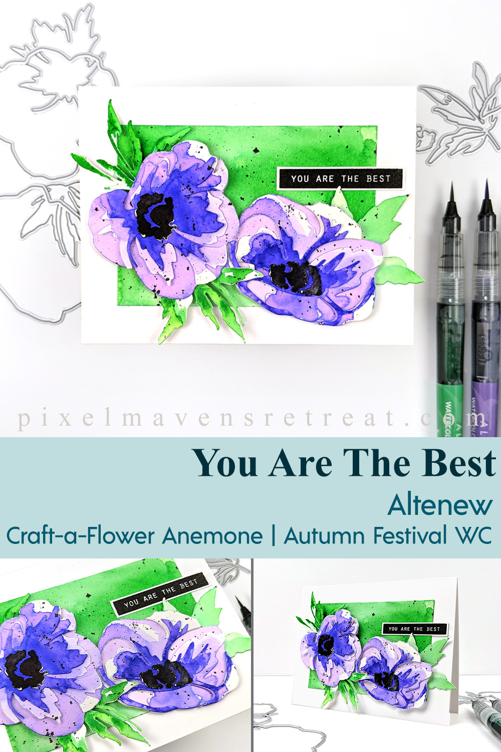Altenew Craft-A-Flower: Anemone Release Blog Hop + Giveaway