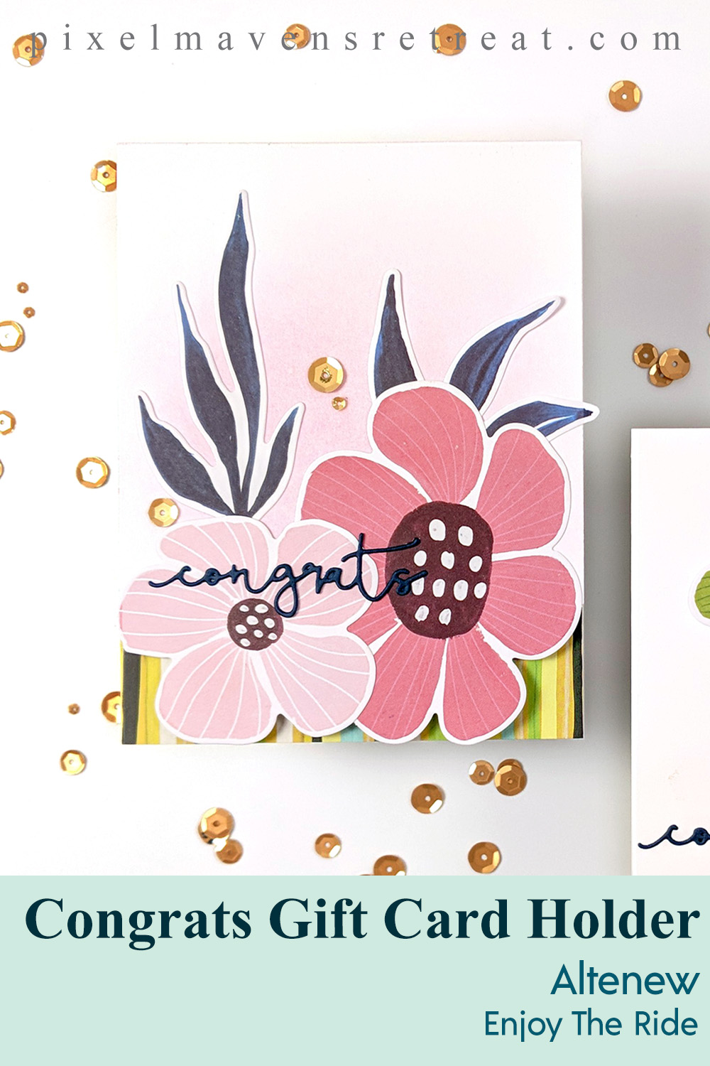 Gatefold Gift Cards | Sketch Starters #013 + Winner + New challenge