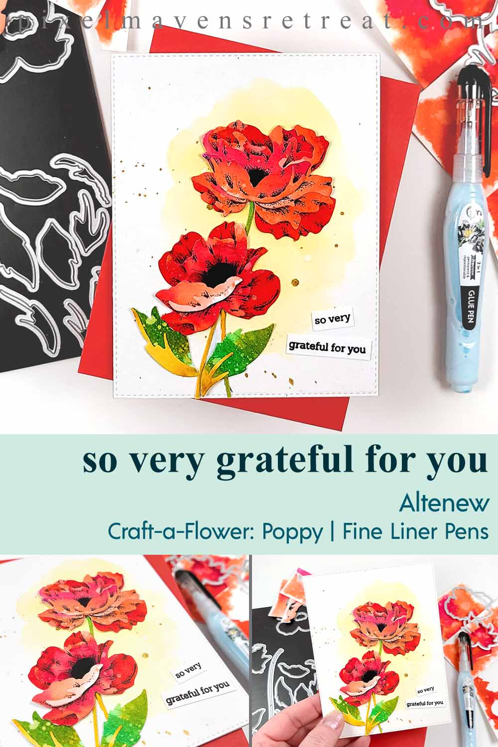Craft-A-Flower: Poppy release blog hop