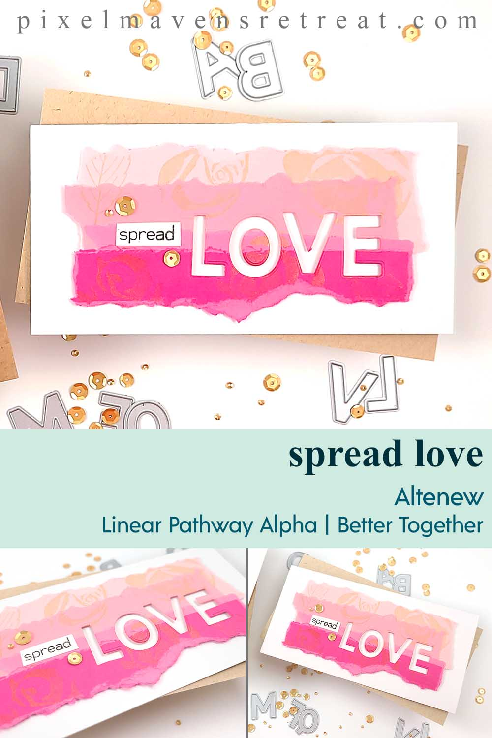 Creative Paper Strip Backgrounds for Valentines