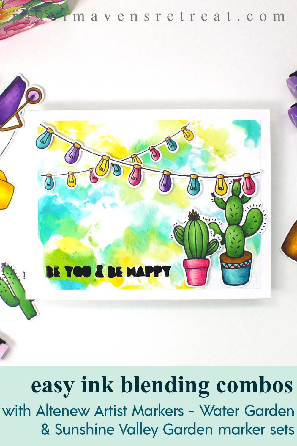Altenew Paint-A-Flower: Clematis & Artist Alcohol Markers Release Blog Hop + Giveaway