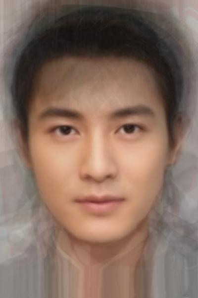 Average Chinese Actor (Mainland, Hong Kong, Taiwan)