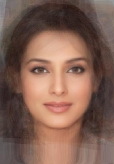Average Bollywood Actress