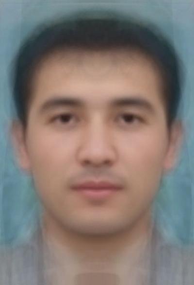 Average Uzbek Male