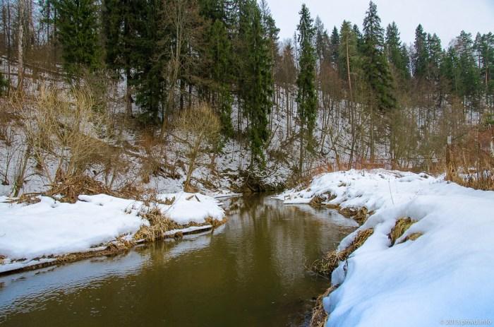 Река Сторожка. Дютьково.