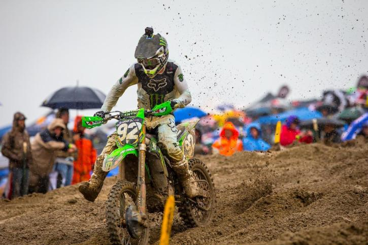 Cianciarulo's win in the rain-filled second moto carried him to the overall victory.