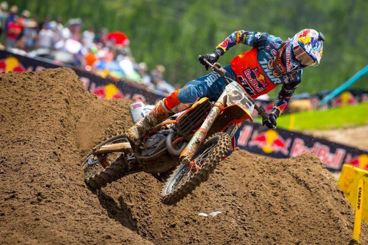 Musquin took home his first win of the 2019 season.