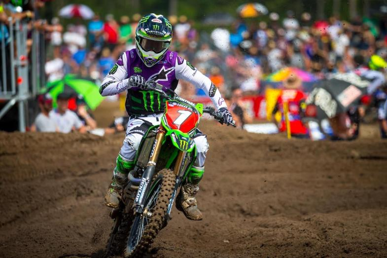 Tomac bounced back from a tough Moto 1 to take an impressive Moto 2 win.