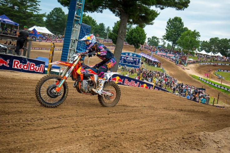 Musquin raced to his second straight 450 Class victory.