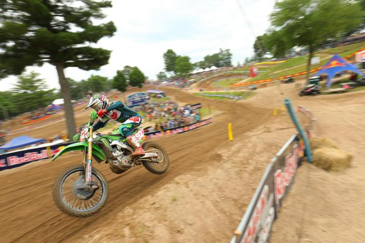 Cianciarulo raced to his fifth 250 Class win in six races.