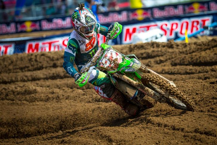 Cianciarulo's 5-2 moto scores were good enough for second overall.