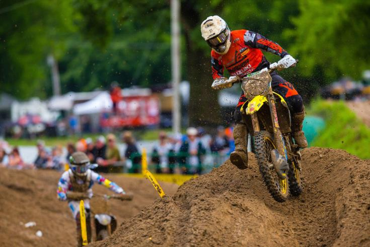 Martin earned his first podium finish of the season in front of his hometown crowd.