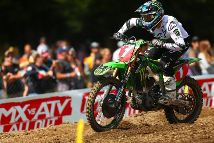 Tomac rebounded from a difficult first moto to finish fourth overall.