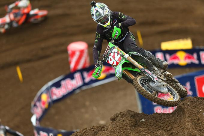 Cianciarulo was second on the day and maintains a 28 point lead.