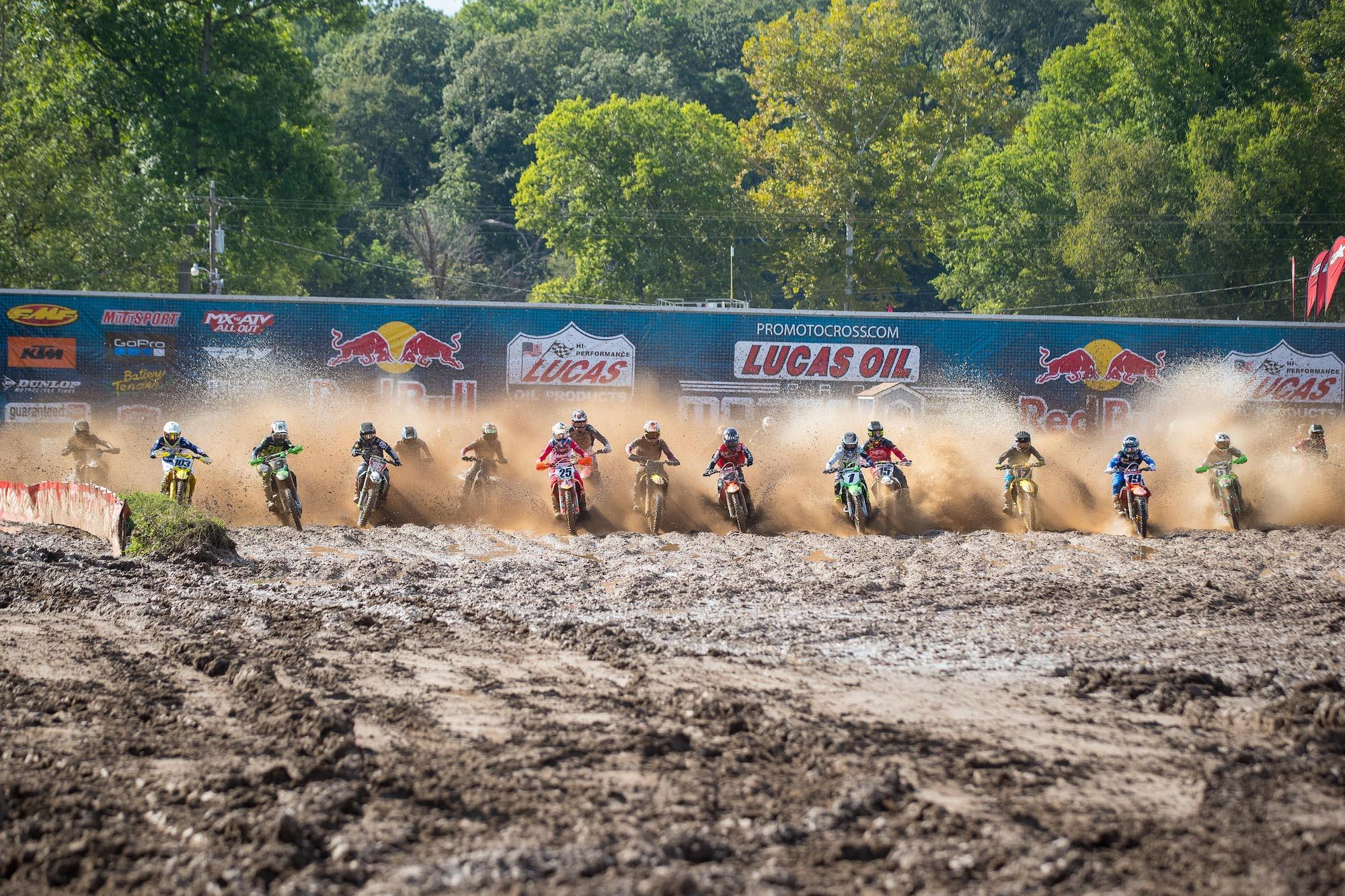 Mother Nature had a big impact on Round 2 at Loretta Lynn's Ranch.