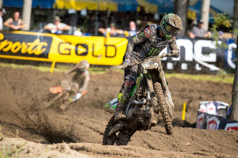 Reigning champion Eli Tomac took his first win of the 2020 season.