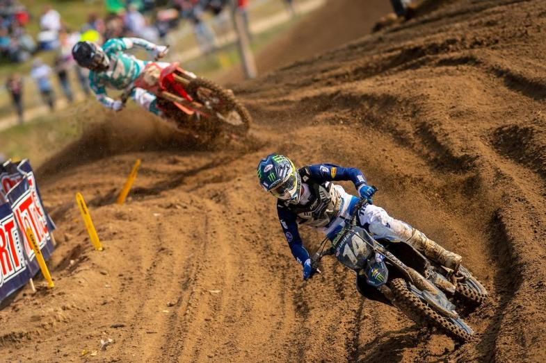 Dylan Ferrandis swept both motos for his second win of the season in the 250 Class.