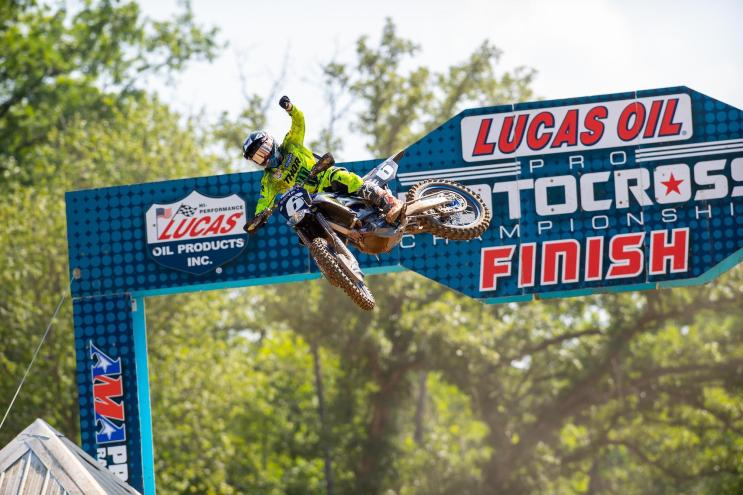 Jeremy Martin was dominant at his home track and became the sixth different 250 Class winner this season with a 1-1 sweep.