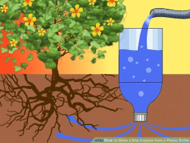 DIY water irrigation
