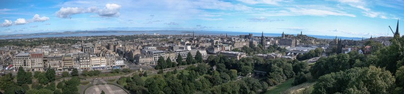 Edinburgh as seen from Edinburgh Castle-3