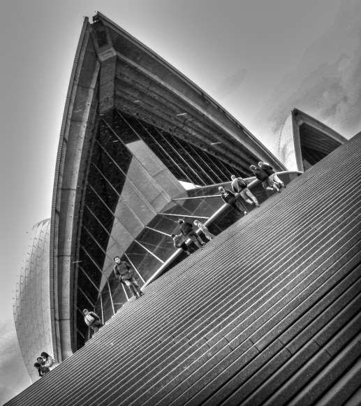 Sydney Opera House BW2