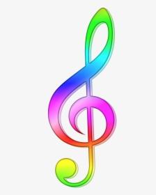 note de musique en couleur hd png
