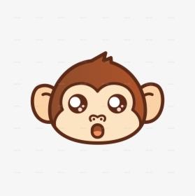 Transparent Cartoon Monkey Png Cute Monkey Cartoon Face Png Download Transparent Png Image Pngitem