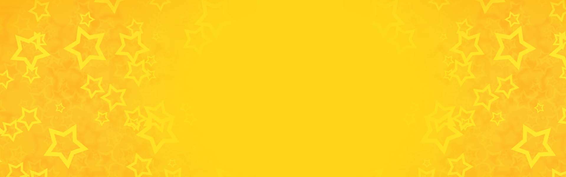 Yellow Background Banner Yellow Fivepointed Star Poster