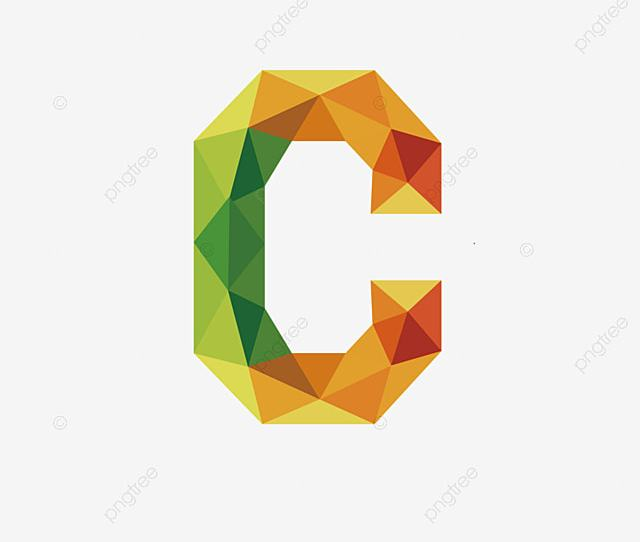 Colorful Letters C Letter C Colorful Png Image And Clipart