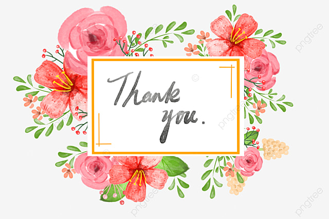Thank You Card Png Vector PSD And Clipart With Transparent Background For Free Download Pngtree