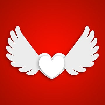 Heart With Wings Png Images Vector And Psd Files Free Download On Pngtree